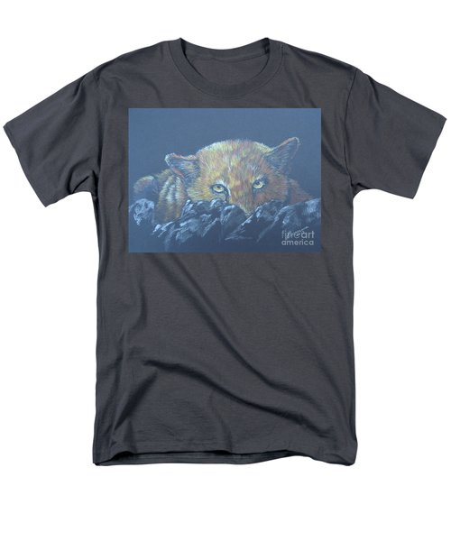 Men's T-Shirt  (Regular Fit) featuring the drawing I See You by Laurianna Taylor