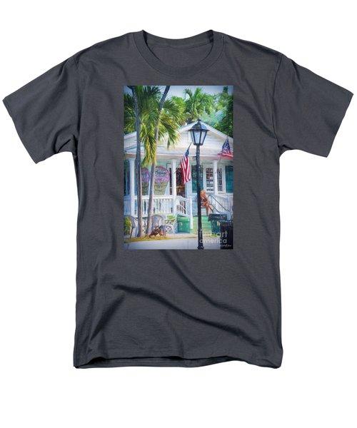 Ice Cream In Key West Men's T-Shirt  (Regular Fit)