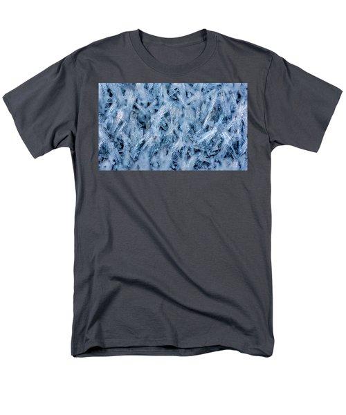 Ice Grass Growing Men's T-Shirt  (Regular Fit) by Rainer Kersten