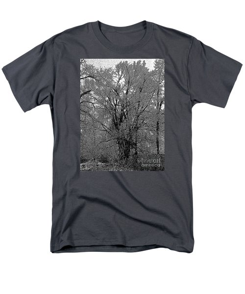 Iced Tree Men's T-Shirt  (Regular Fit) by Craig Walters