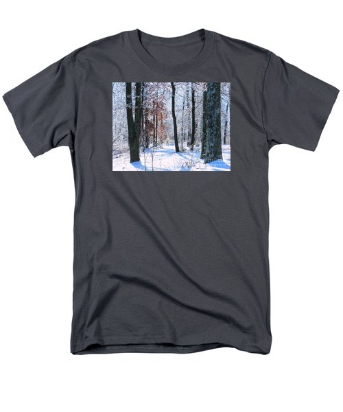 Icey Forest 1 Men's T-Shirt  (Regular Fit) by Craig Walters