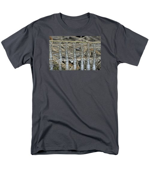 Men's T-Shirt  (Regular Fit) featuring the photograph Icicles On A Stick by Glenn Gordon