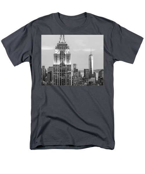 Iconic Skyscrapers Men's T-Shirt  (Regular Fit) by Az Jackson