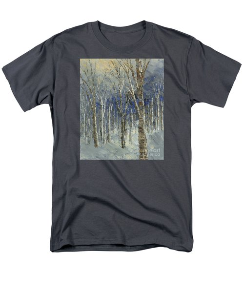 Men's T-Shirt  (Regular Fit) featuring the painting Icy Bells by Tatiana Iliina