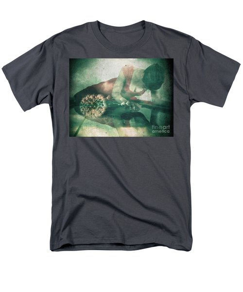 If Only I Wish Men's T-Shirt  (Regular Fit) by Jessica Shelton