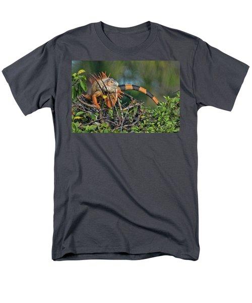 Iggy Men's T-Shirt  (Regular Fit) by Don Durfee