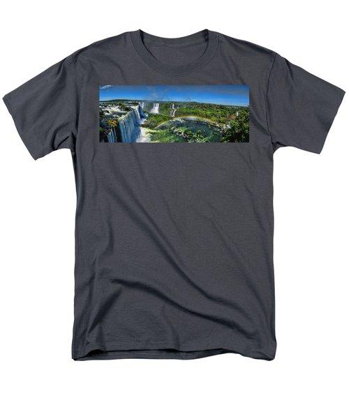 Iguazu Panorama Men's T-Shirt  (Regular Fit) by David Gleeson