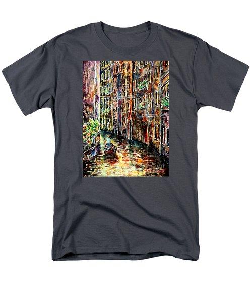 Il Giro Finale Del Gondoliere Men's T-Shirt  (Regular Fit) by Alfred Motzer