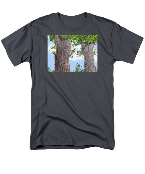Men's T-Shirt  (Regular Fit) featuring the drawing Imaginary Trees by Jim Hubbard