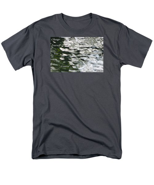 Men's T-Shirt  (Regular Fit) featuring the photograph In Control by David Norman