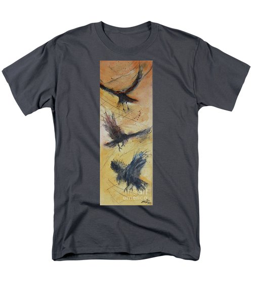 Men's T-Shirt  (Regular Fit) featuring the painting In Flight by Ron Stephens
