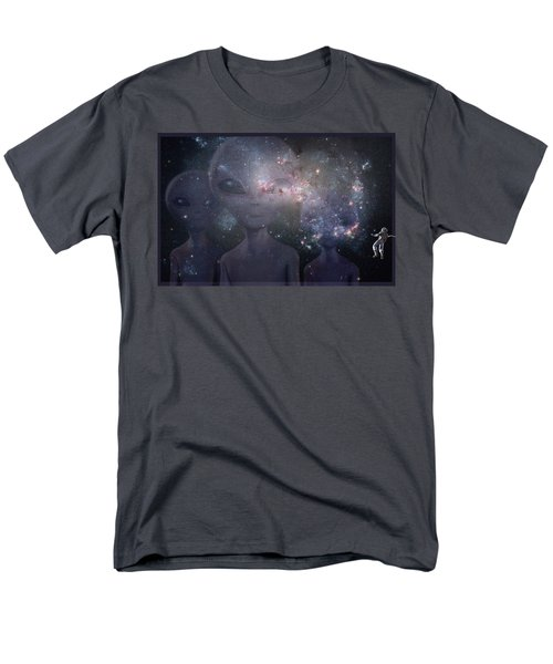 In Space Men's T-Shirt  (Regular Fit) by Thomas M Pikolin