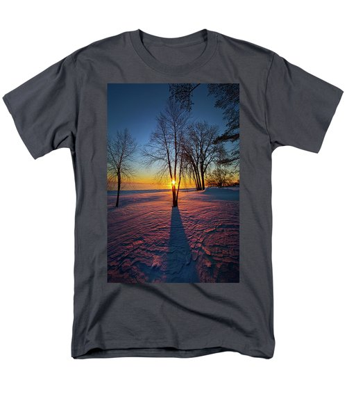 Men's T-Shirt  (Regular Fit) featuring the photograph In That Still Place by Phil Koch