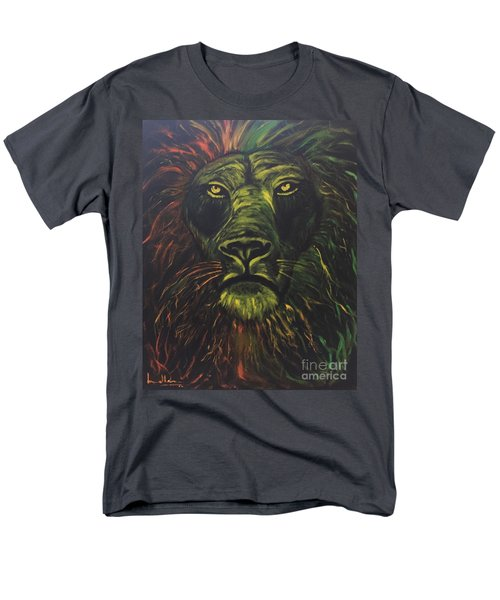 Men's T-Shirt  (Regular Fit) featuring the painting In The Dark by Brindha Naveen