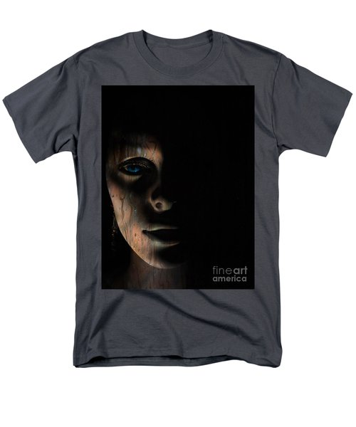 Men's T-Shirt  (Regular Fit) featuring the photograph In The Dark by Trena Mara
