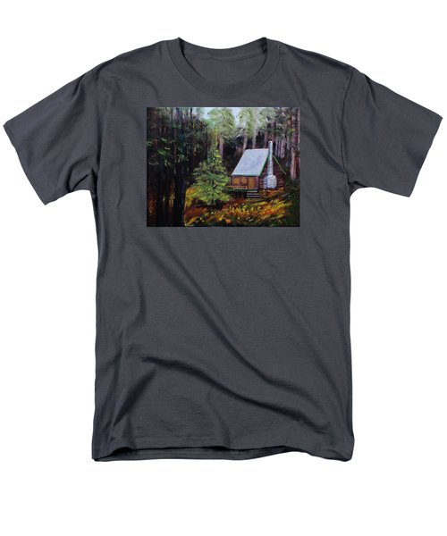 In The Deep Woods Men's T-Shirt  (Regular Fit) by Mike Caitham