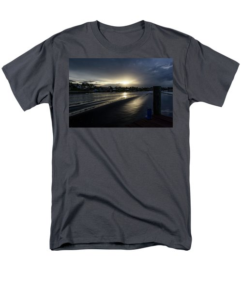 Men's T-Shirt  (Regular Fit) featuring the photograph In The Wake Zone by Laura Fasulo
