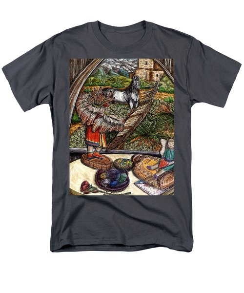 In Times Of Need Men's T-Shirt  (Regular Fit) by Kim Jones