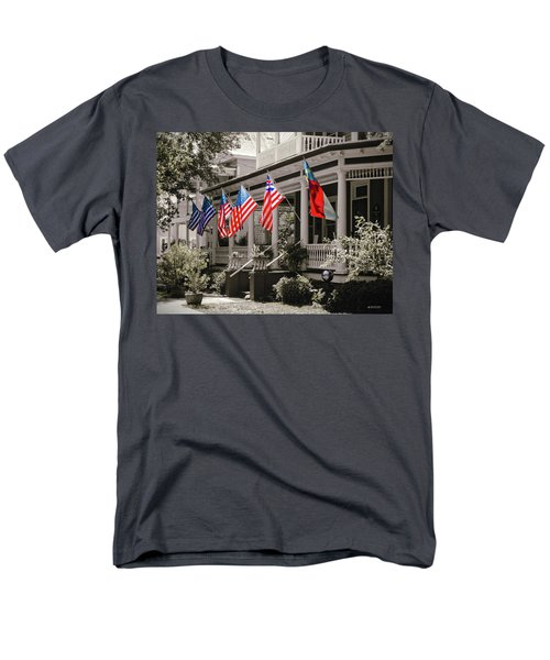 Independence Day Southport Style Men's T-Shirt  (Regular Fit) by Phil Mancuso