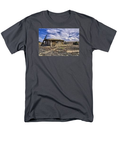Indian Trading Post Montrose Colorado Men's T-Shirt  (Regular Fit) by James Steele