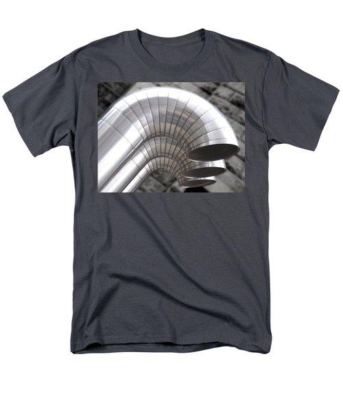 Industrial Air Ducts Men's T-Shirt  (Regular Fit) by Henri Irizarri