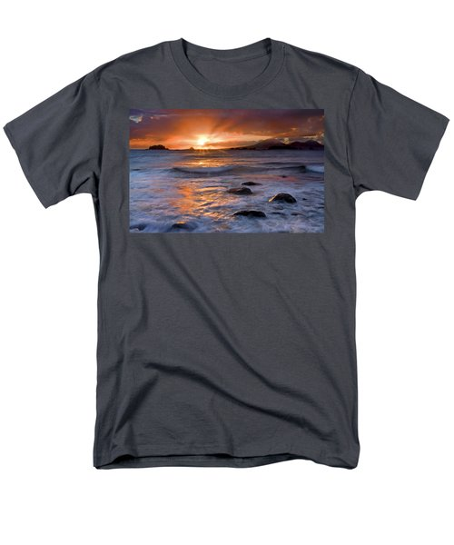 Inspired Light Men's T-Shirt  (Regular Fit) by Mike  Dawson