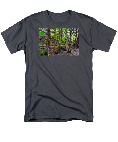 Into The Forest Men's T-Shirt  (Regular Fit) by Lewis Mann