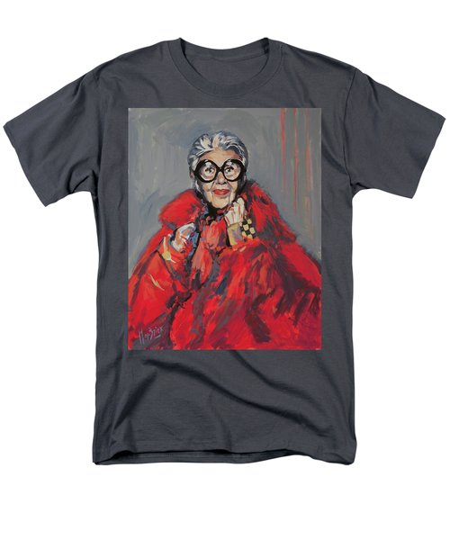 Iris Apfel Style Icon Men's T-Shirt  (Regular Fit) by Nop Briex