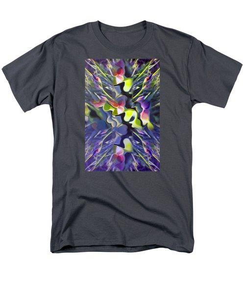 Iris Bursts Men's T-Shirt  (Regular Fit) by Tina M Wenger