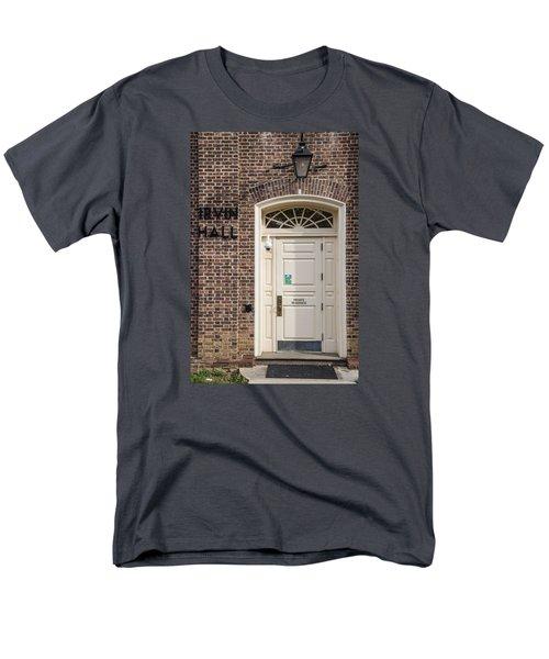 Irvin Hall Penn State  Men's T-Shirt  (Regular Fit) by John McGraw