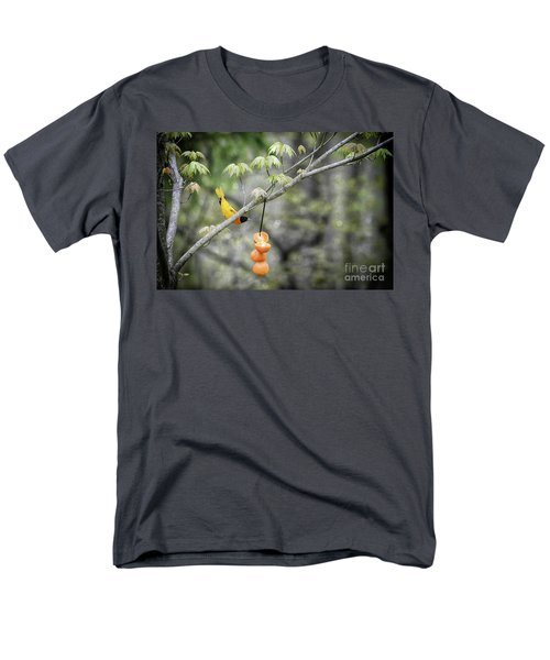 Men's T-Shirt  (Regular Fit) featuring the photograph Is This For Me by Lila Fisher-Wenzel