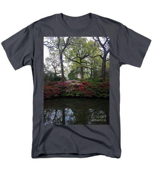 Men's T-Shirt  (Regular Fit) featuring the photograph Isabella Plantation by Hanza Turgul