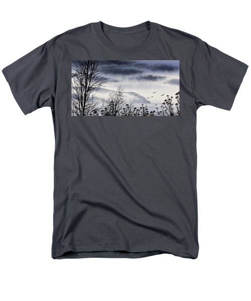 Men's T-Shirt  (Regular Fit) featuring the painting Island Solitude by James Williamson