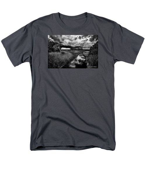 Isolated Shower - Bw Men's T-Shirt  (Regular Fit) by Christopher Holmes