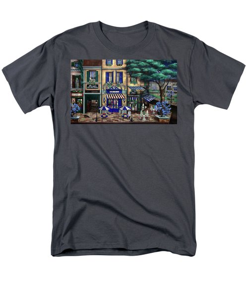 Italian Cafe Men's T-Shirt  (Regular Fit) by Curtiss Shaffer