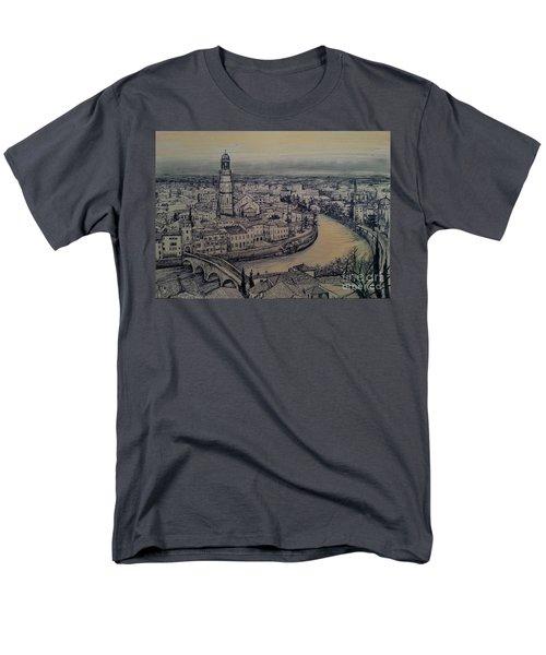 Italy Verona Men's T-Shirt  (Regular Fit)