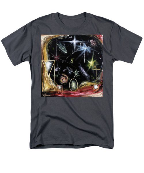 It's Full Of Stars  Men's T-Shirt  (Regular Fit) by Ryan Demaree