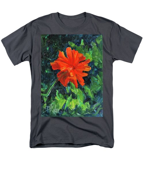Men's T-Shirt  (Regular Fit) featuring the painting I've Got My Red Dress On by Billie Colson