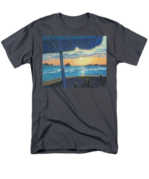 Men's T-Shirt  (Regular Fit) featuring the painting Ixtapa by Susan DeLain