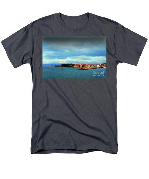 Izola From The Marina Men's T-Shirt  (Regular Fit) by Graham Hawcroft pixsellpix