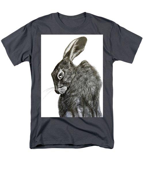 Men's T-Shirt  (Regular Fit) featuring the drawing Jackrabbit Jock by Linde Townsend