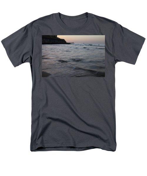 Jaffa Port Men's T-Shirt  (Regular Fit) by Shlomo Zangilevitch