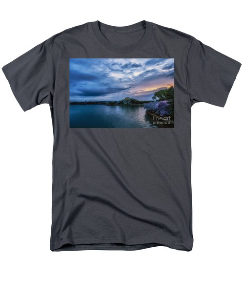 Jefferson Memorial Dawn Men's T-Shirt  (Regular Fit) by Thomas R Fletcher