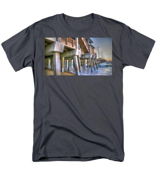 Jennette's Pier Men's T-Shirt  (Regular Fit) by Scott and Dixie Wiley