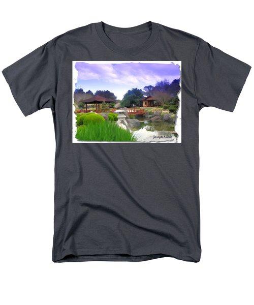 Men's T-Shirt  (Regular Fit) featuring the photograph Jg-0021 Kotaji Lantern by Digital Oil