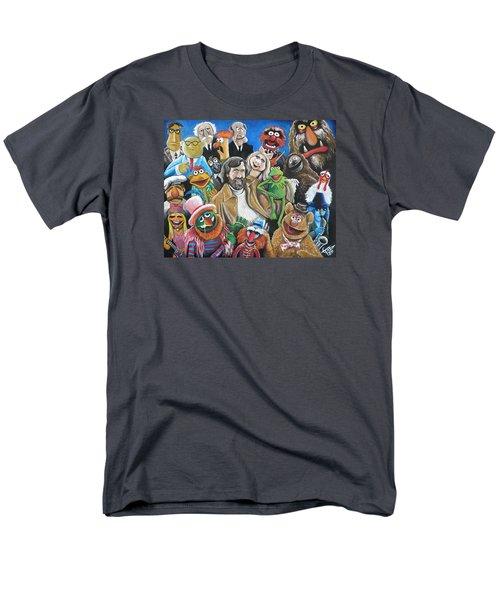Jim Henson And Co. Men's T-Shirt  (Regular Fit) by Tom Carlton