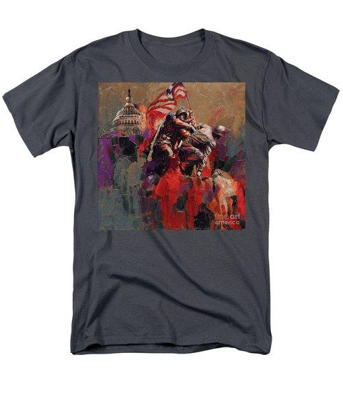 Jima Memorial Washington Dc Men's T-Shirt  (Regular Fit) by Gull G