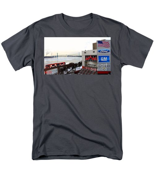 Joe Louis Arena Men's T-Shirt  (Regular Fit) by Michael Rucker