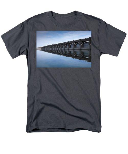 John Martin Dam And Reservoir Men's T-Shirt  (Regular Fit) by Ernie Echols