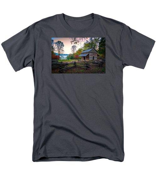 John Oliver Place In Cades Cove Men's T-Shirt  (Regular Fit) by Rick Berk